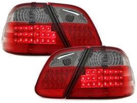 Mercedes W208 97-02 Фонари светодиодные, красно-тонированные