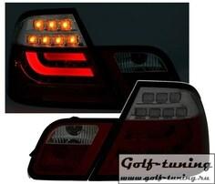 BMW E46 99-03 Купе Фонари светодиодные, красно-тонированные Lightbar