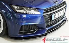 Audi TT (8J-FV/8S) S-Line 14-18/18- Накладка на передний бампер/сплиттер глянцевая