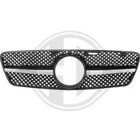 Mercedes W203 00-07 Решетка радиатора хром/черная