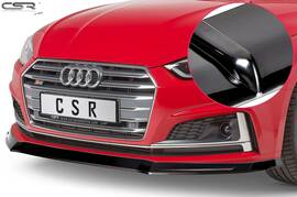 Audi A5 F5 S-Line / S5 F5 16-19 Накладка на передний бампер глянцевая