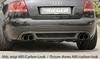 Audi A4 8H 02-05 Cabrio Накладка на задний бампер