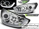 Hyundai IX35 10-13 Фары Tube lights хром