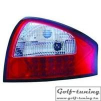 Audi A6 C5 97-04 Седан Фонари светодиодные, красно-белые