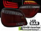BMW E60 03-07 Фонари светодиодные, красно-тонированные Lightbar design