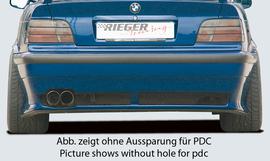 BMW E36 Накладка на задний бампер