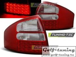 Audi A6 97-04 Седан Фонари светодиодные, красно-белые