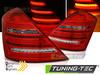 MERCEDES W221 05-09 Фонари красно-белые W222 LOOK с бегающим поворотником