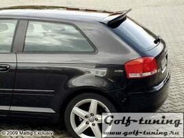 Audi A3 8P 03- Спойлер на крышку багажника