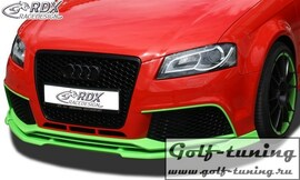 Audi RS3 11- (3Дв+ Sportback) Спойлер переднего бампера VARIO-X
