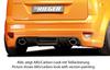 Ford Focus 2 04-08 Накладка на задний бампер