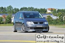 VW Touran 1T 03- Спойлер переднего бампера