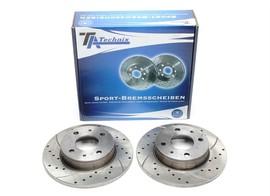 Nissan Micra I Комплект спортивных тормозных дисков