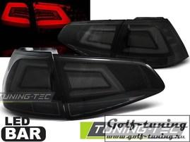 VW Golf 7 12-17 Фонари светодиодные, тонированные lightbar design