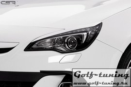 Opel Astra J GTC/Cascada 12-15 Реснички на фары