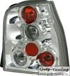 VW Lupo, Seat Arosa 97-00 Фонари хром