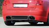 Audi A4 B7 04-08 Накладка на задний бампер carbon look