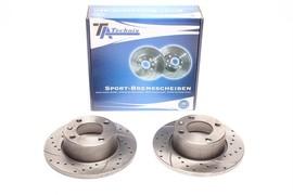 Citroen Xantia Break Комплект спортивных тормозных дисков