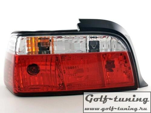 BMW E36 Купе Фонари красно-белые