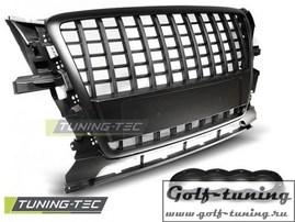 Audi Q5 08-12 Решетка радиатора S-LINE Style черная