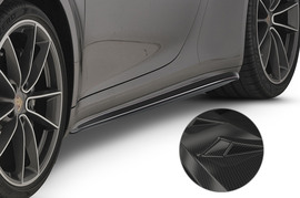 Porsche 911/992 19- Накладки на пороги Carbon look
