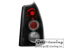 Peugeot 307 02-05 Универсал Фонари черные