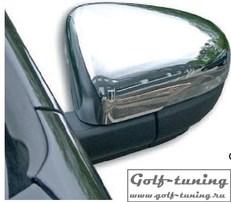 VW Golf 6 Накладки на зеркала хром