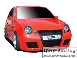 VW Lupo Бампер передний