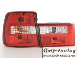 BMW E34 Седан Фонари красно-белые