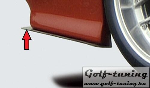 Сплиттер для спойлера заднего бампера Rieger 00055036/37