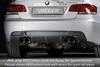 BMW E92/E93 06-13 335I/335d Накладка на задний бампер