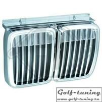 BMW E30 84-90  Решетки радиатора (ноздри) хром