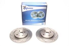 Daihatsu Charade/Toyota Yaris Комплект спортивных тормозных дисков