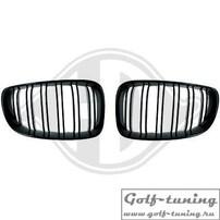 BMW F20 11-15 Решетки радиатора (ноздри) глянцевые, в м стиле