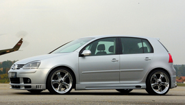 VW Golf 5/VW Jetta 5 Накладки на пороги