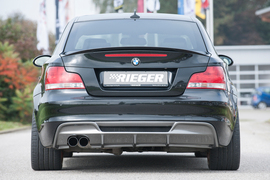 BMW E82 Coupe, 3.0l Bi-Turbo 225kW (306 PS) Глушитель rieger