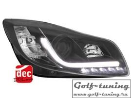 Opel Insignia 08-13 Фары Devil eyes, Dayline черные