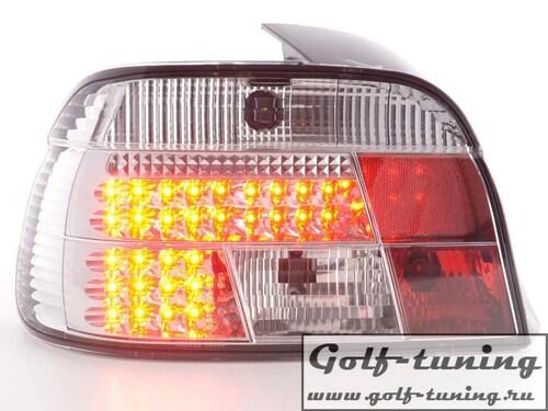 BMW E39 95-00 Седан Фонари светодиодные, хром