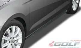 """VW Touran 5T 15- Накладки на пороги """"Slim"""""""