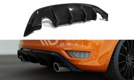 Ford Focus 2 ST 08-11 Накладка на задний бампер/диффузор