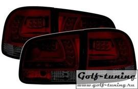 VW Touareg 02-10 Фонари светодиодные, красно-тонированные