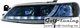 Opel Vectra B 96-99 Фары Devil eyes, Dayline черные