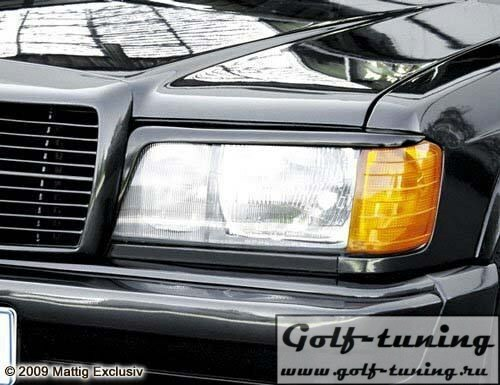 Mercedes W201 82-92 Ресницы