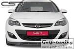 Opel Astra J 09-Накладка на передний бампер Carbon Look