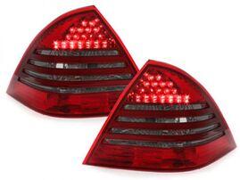 Mercedes W203 00-04 Фонари светодиодные, красно-тонированные