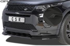 Land Rover Discovery 15- Спойлер переднего бампера Carbon look