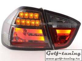 BMW E90 05-08 Седан Фонари светодиодные, тонированные