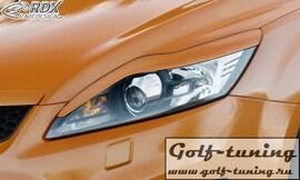 Ford Focus 08-11 Ресницы на фары RDSB104