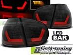 VW Golf 5 Фонари светодиодные, черные Lightbar