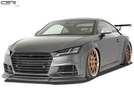 Audi TTS FV/8S 2014- Спойлер переднего бампера черный